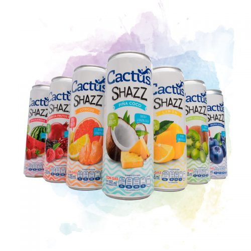 Deja que las burbujas que Cactus revienten en tu paladar a cada trago. Disfruta de nuestro único sabor.